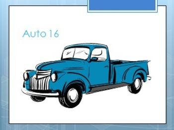 Autos: Activity Bundle