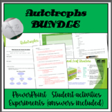 Autotrophs PowerPoint and Activities