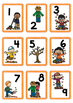 Autum / Fall Themed Number Cards 1-100