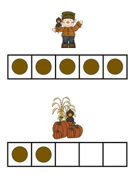 Autumn 0-5 Around the Room Math CCSS K.CC.1