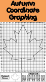Autumn Math Activity: Maple Leaf Coordinate Graphing Picture - Ordered Pairs