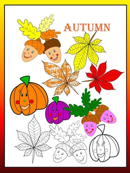 Fall - Bundle - 8  products - PowerPoint presentation and Clip Art