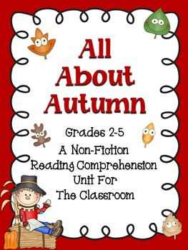 Autumn - A Reading Comprehension Unit