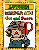 Autumn ABC Cut and Paste