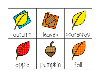 Autumn ABC Order