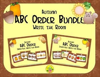 Autumn ABC Order Bundle