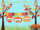 Autumn ABC Order to the First Letter (Great for Google Classroom!)