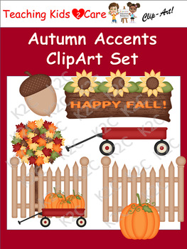 Autumn Accents ClipArt Set
