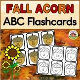 Fall Acorn Alphabet Flashcards