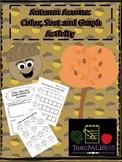 Autumn Acorns: Colour, Sort and Graph Activity