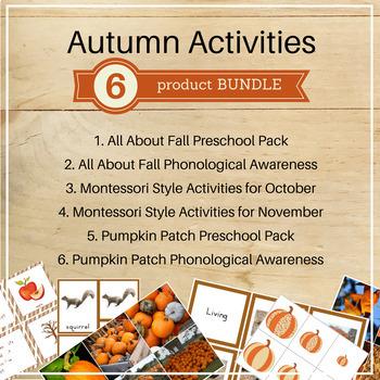 Autumn Activities Bundle
