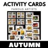 Autumn Activities - Fall Writing and Art Activity Cards -