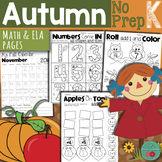 Fall Activities for Kindergarten