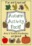Autumn Activities Pack