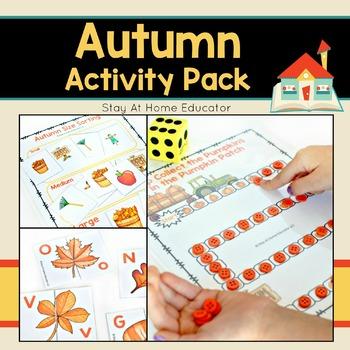 Autumn Activity Pack for Preschoolers