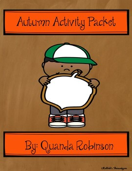 Autumn Activity Packet