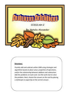 Autumn Addition