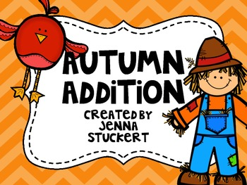 Autumn Addition {An Addition Practice Game}