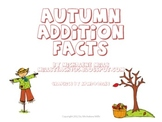 Autumn Addition Facts flashcards sorted by Category