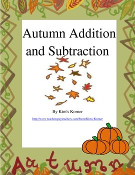 Autumn Addition and Subtraction