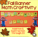 Autumn Addition and Subtraction Craft and Craftivity