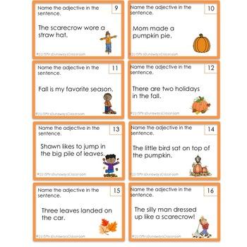 Autumn Adjectives