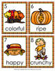 Autumn Adjectives Write The Room Activity