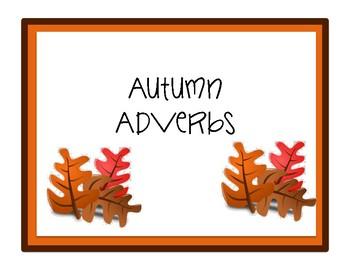506d4c3d79 Autumn Adverbs by Love Sprinkles | Teachers Pay Teachers