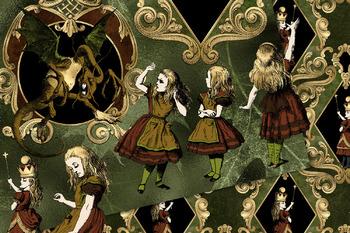 Autumn Alice in Wonderland Graphics