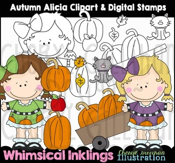 Autumn Alicia Fall Clipart Collection NO LICENSE REQUIRED