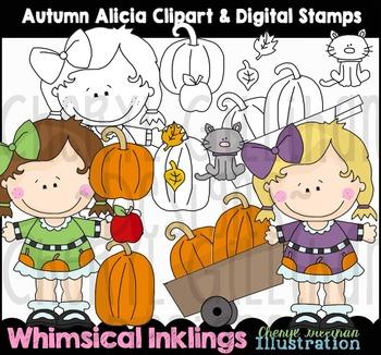 Autumn Alicia Fall Clipart Collection NO LICENSE REQUIRED