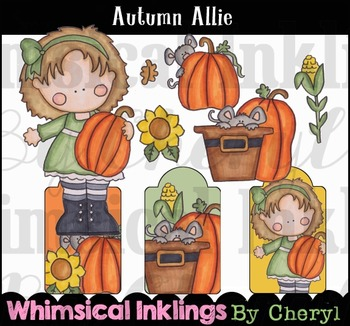 Autumn Allie Clipart Collection