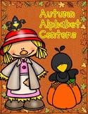 Autumn Alphabet Centers:  ABC Centers for Kindergarten Workstations