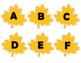 Autumn Alphabet Match Literacy Center
