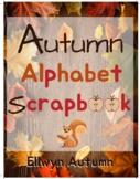 Autumn Alphabet Scrapbook
