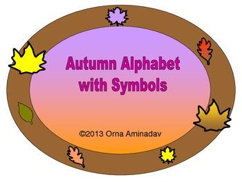 Autumn Alphabet and Symbols