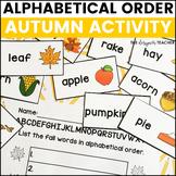 Fall Activity Alphabetical Order