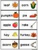 Autumn Alphabetical Order Activity
