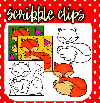 (super discount) Autumn Animals Color By Number Bundle