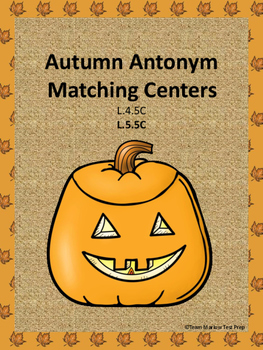 Autumn Antonym Matching Center