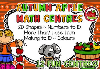 Autumn Apple Math Centres!