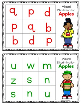 Kindergarten - Special Education - Apple Math,Literacy &Science Activities