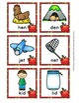 Autumn Apples CVC Rhyming Words Match Game