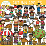 Apples Fall Clip Art