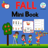Autumn Speech Language Mini Book