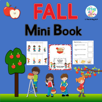 Autumn Speech Language Activity Book