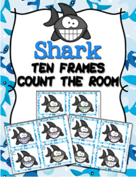 Sharks Ten Frames Count the Room