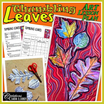 Autumn Art Activity and Lesson Plan for Kids: Tumbling Leaves