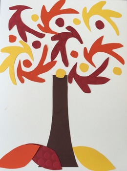 Fall Art Bundle - Step by Step lessons about Matisse, Fall and Thanksgiving art!