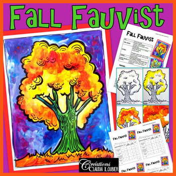 Autumn Art Project : Fall Fauvist